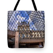 Louvre Museum Paris France Tote Bag