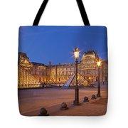 Louvre Twilight Tote Bag