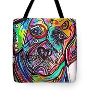 Lovable Lab Tote Bag by Eloise Schneider