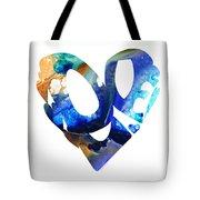 Love 4 - Heart Hearts Romantic Art Tote Bag