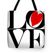 Love All Around Tote Bag