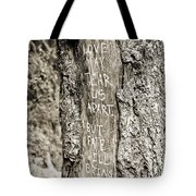 Love And Fate Tote Bag