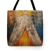 Love And Only Love Can Make My Soul Take Flight Tote Bag