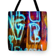 Love And Something Else Tote Bag