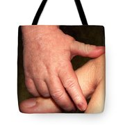 Love At First Touch Tote Bag