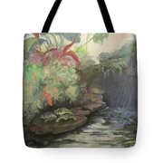 Love At The Conservatory Tote Bag