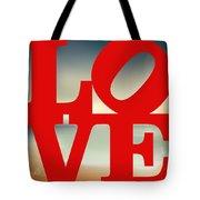 Love Beach Tote Bag
