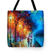 Love By The Lake Tote Bag