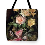 Love By The Moon  Tote Bag