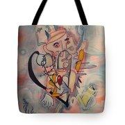 Love Collides  Tote Bag