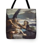 Love Dies In Time Tote Bag