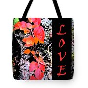 Love Fall Edition Tote Bag
