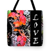 Love Fall White Edition Tote Bag