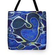 Love Flows Like Water Tote Bag