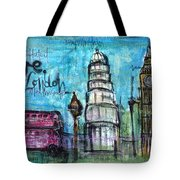 Love For London Tote Bag