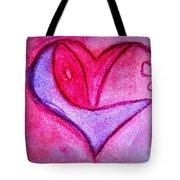 Love Heart 3 Tote Bag