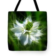 Love In A Mist Tote Bag