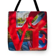 Love In City Park New Orleans Tote Bag