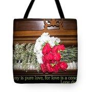 Love In Harmony Tote Bag