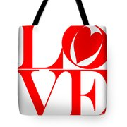 Love In Red Tote Bag