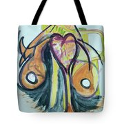 Love In The Chair Tote Bag