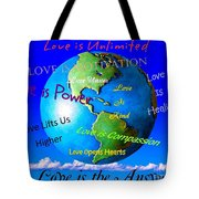 Love Is. . . . Tote Bag