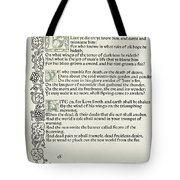 Love Is Enough Tote Bag by William Morris