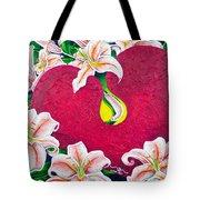 Love Is Flourishing Tote Bag