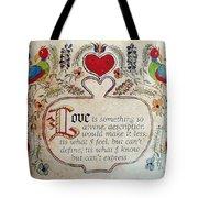 Love Is Tote Bag