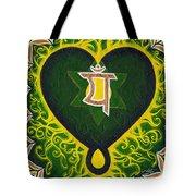 Love Is Spiritual Heart Chakra Tote Bag