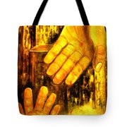 Love Is The Deciding Factor Tote Bag