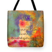 Love Is The Religion Tote Bag