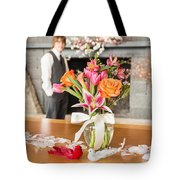 Love Is Waiting Tote Bag
