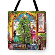 Love Is What Happens At Christmas Tote Bag