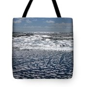 Love Letters In The Sand Tote Bag