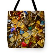 Love Locks Eternal Tote Bag