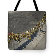 Love Locks - Florence Italy Tote Bag