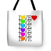 Love Love Love Tote Bag