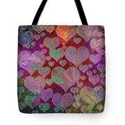 Love... Love... Love Tote Bag