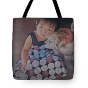 Love Makes The World Go Round Tote Bag