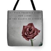 Love Mother Teresa Tote Bag