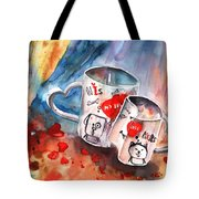 Love Mugs Tote Bag