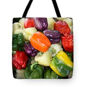 Love My Peppers Tote Bag