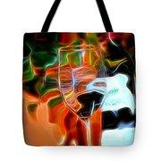 Love My Wine - Bright Colours Tote Bag