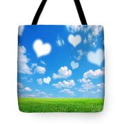 Love Nature Background Tote Bag