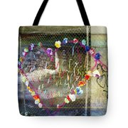 Love Note Under The Bridge Tote Bag