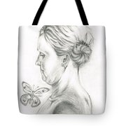 Loves- Her Butterflies Tote Bag