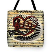 Love Of Music  Tote Bag