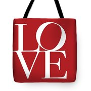 Love On Red Tote Bag