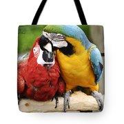 Love Parrotts Tote Bag